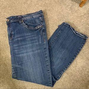 3/$10 LA IDOL USA Boot Cut Jeans Size 21
